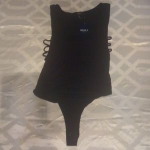 Black Knit body suit